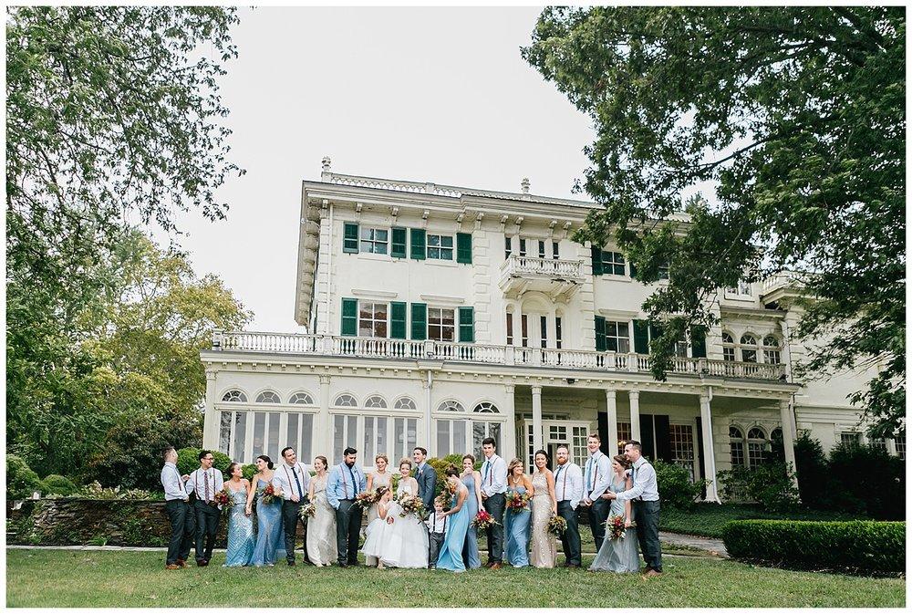 Philadelphia Weddings | The Glen Foerd on the Delaware | Philadelphia, PA | www.redoakweddings.com