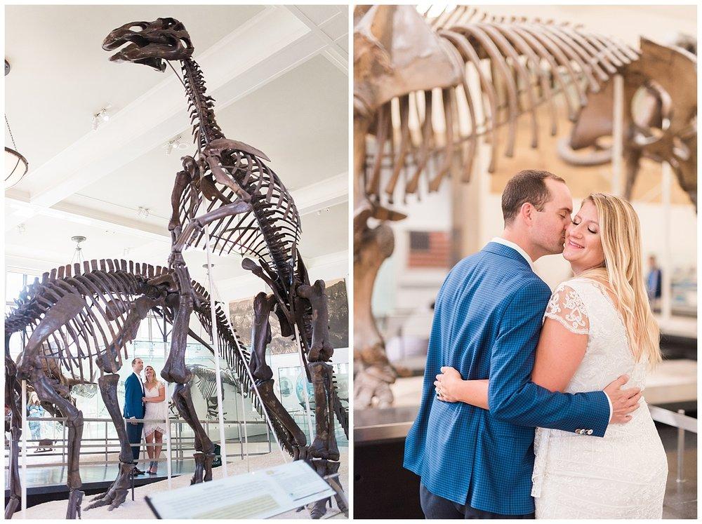 NYC Engagements | Museum of Natural History | www.redoakweddings.com