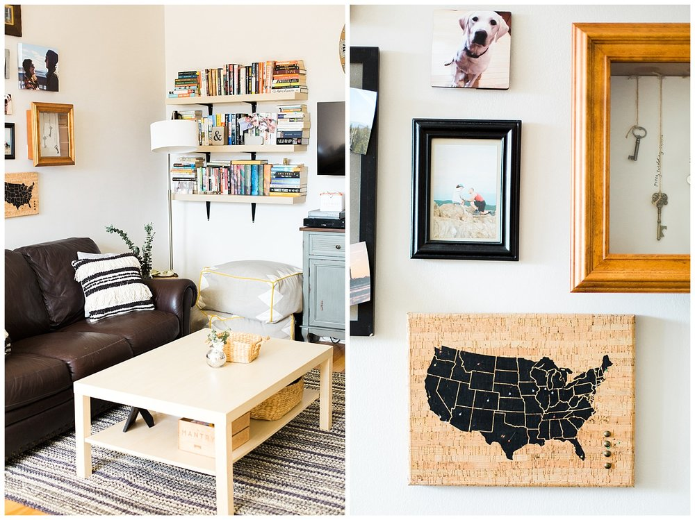 Hudson Valley In Home Engagement Session | Hartsdale, New York | www.redoakweddings.com