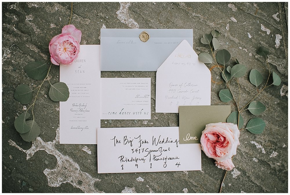 10/10 | The Big Fake Wedding NYC | Save the Date | www.redoakweddings.com