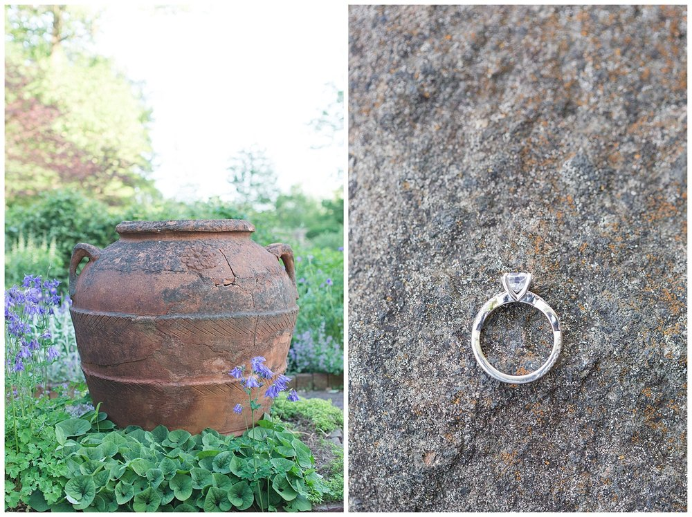 New Jersey Engagement Session | Cross Estate Gardens | Bernardsville, NJ | www.redoakweddings.com