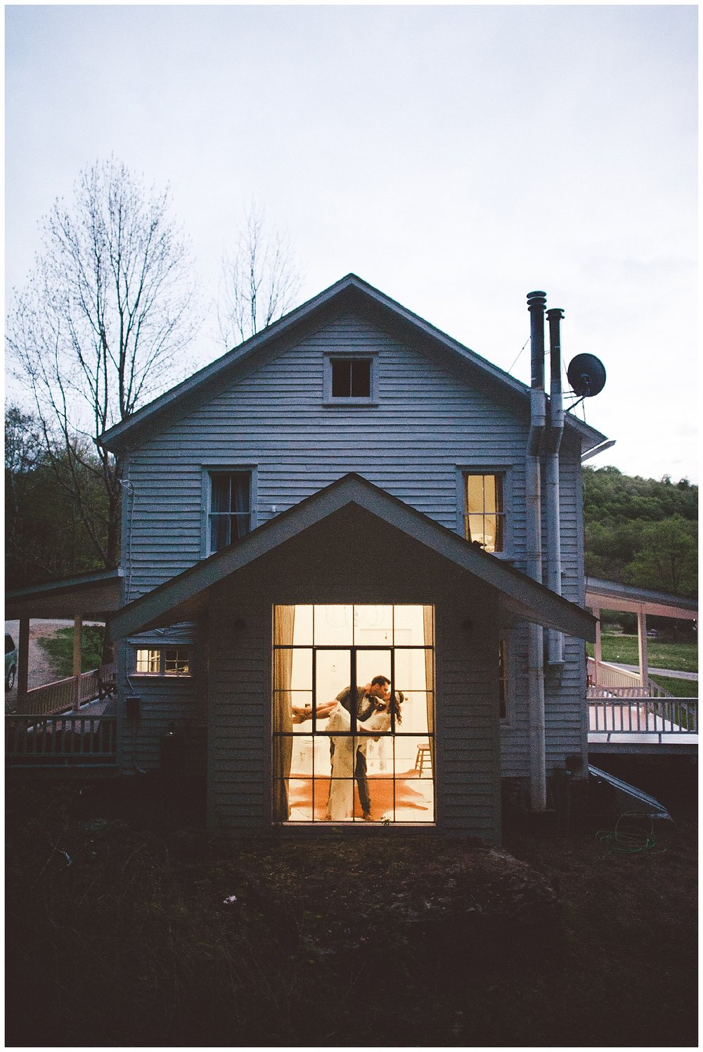 Spring Boho Wedding Hudson Valley | Handsome Hollow | Long Eddy, NY | www.redoakweddings.com