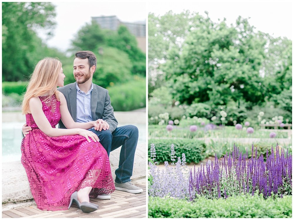 Philadelphia Engagements | Rodin Museum of Art | Philadelphia, PA | www.redoakweddings.com