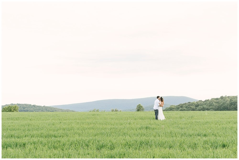 Hudson Valley TeePee Engagements | Ronny Brook Dairy Farm | Pine Plains, NY | www.redoakweddings.com