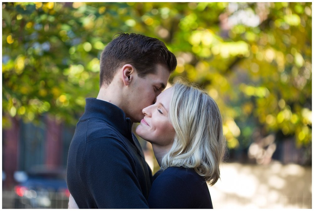 Philadelphia Engagements | Fitler Square, Pennsylvania | Philly Weddings | www.redoakweddings.com