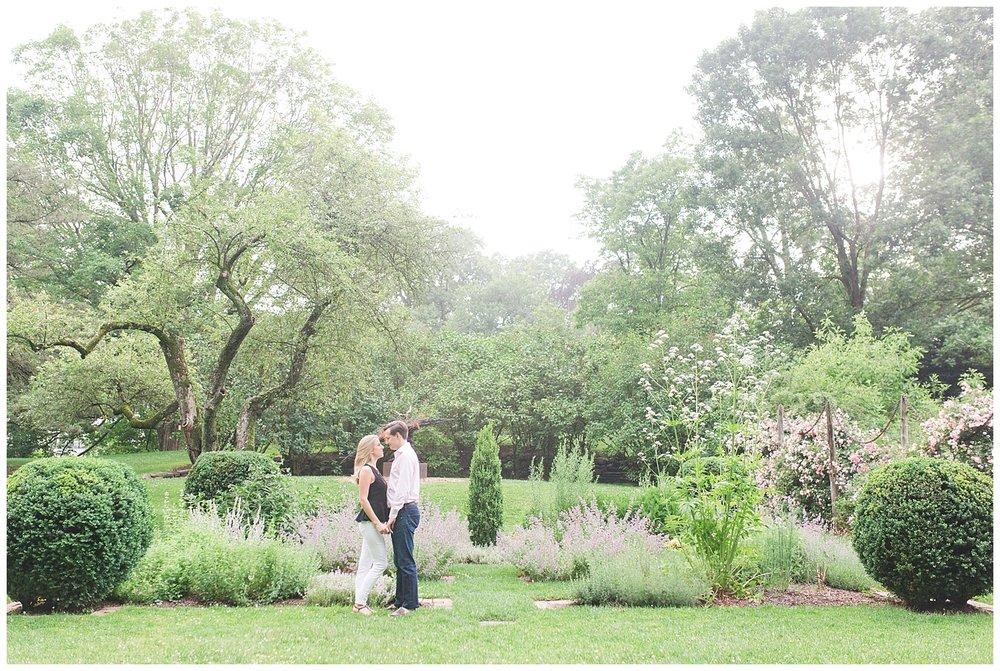 New Jersey Engagements | Reeves Reed Arboretum | Summit, NJ | www.redoakweddings.com