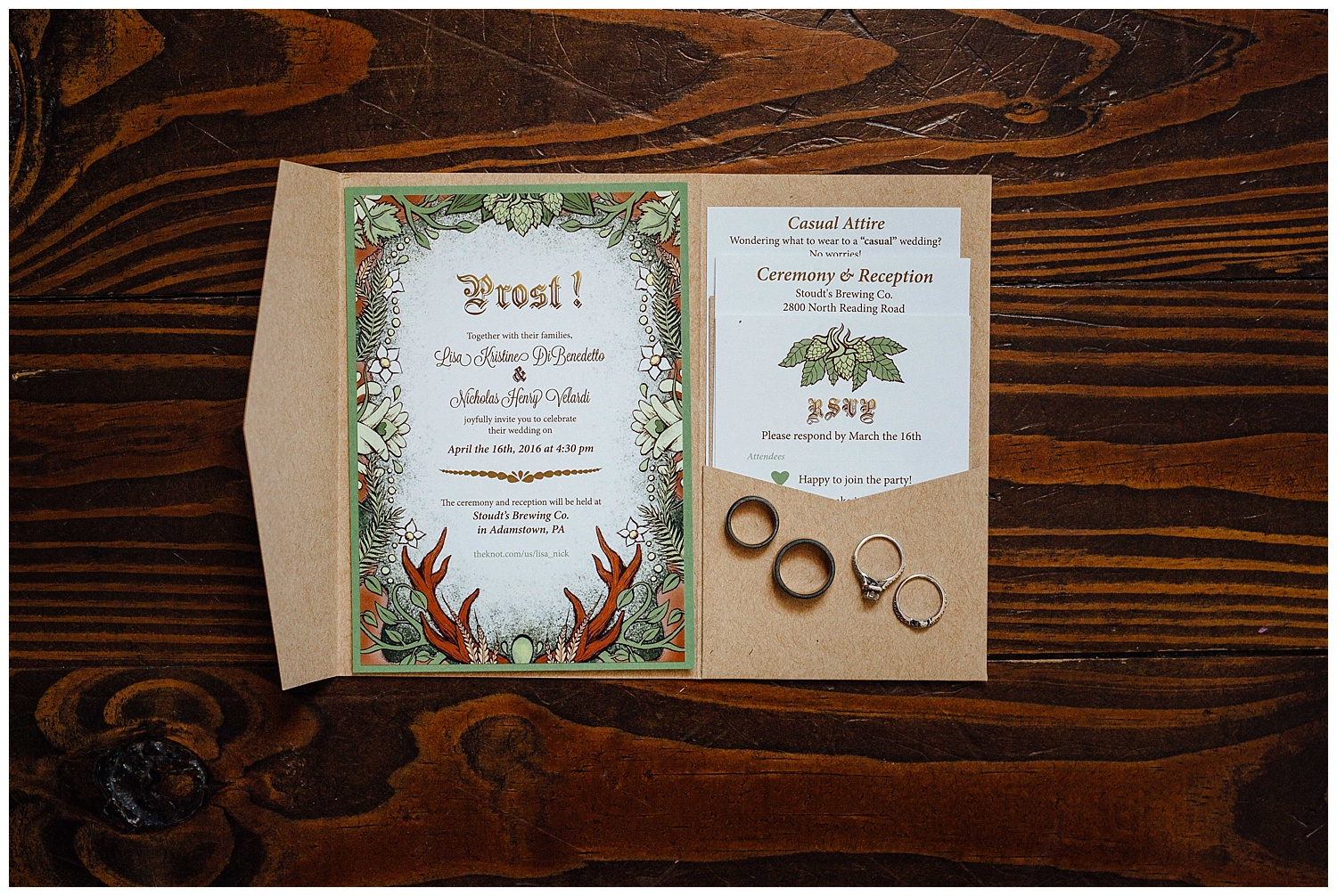 Famous Fun Brewery Wedding in Amish Country • Kamp Weddings — Red Oak  KM25