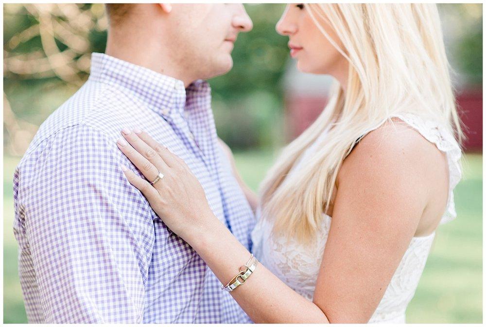 Morristown NJ Engagement Session | Jockey Hollow | New Jersey Engagements | www.redoakweddings.com