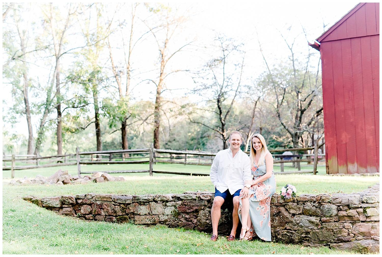 Sweet Summer Engagement at Jockey Hollow • Deborahann Photography ...