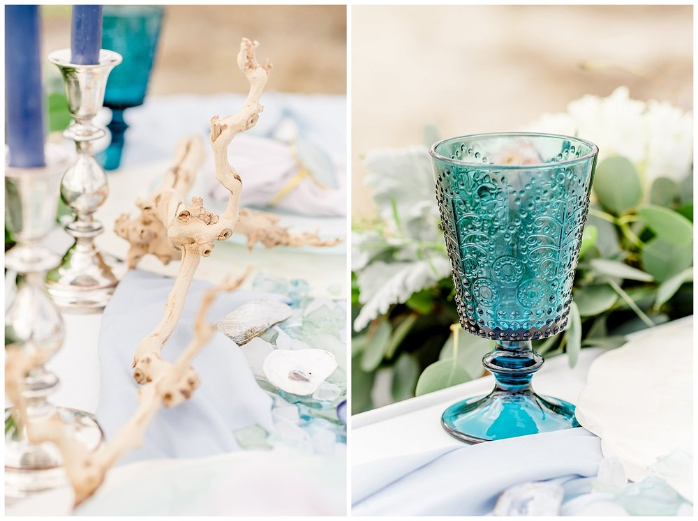 Jersey Shore Wedding Inspiration | Coastal Styled Shoot | Fisherman's Cove Conservation Area | Monmouth County Park | Manasquan, NJ | www.redoakweddings.com