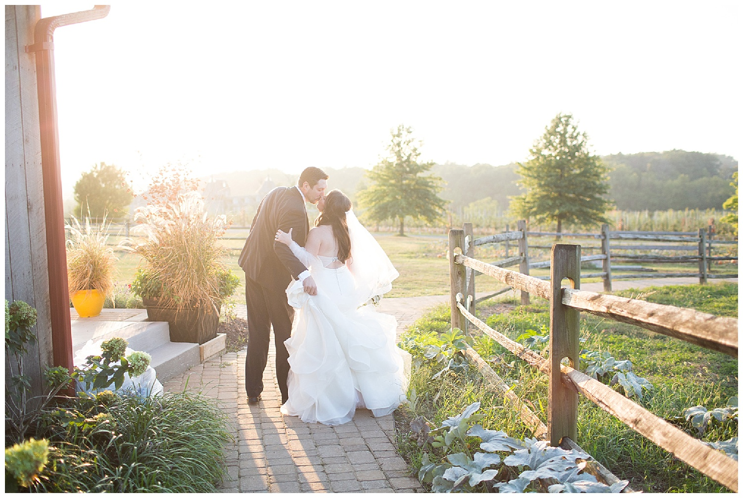 Rustic Glam Fall Wedding at Rich Farms • Jessica Fike Photography ...