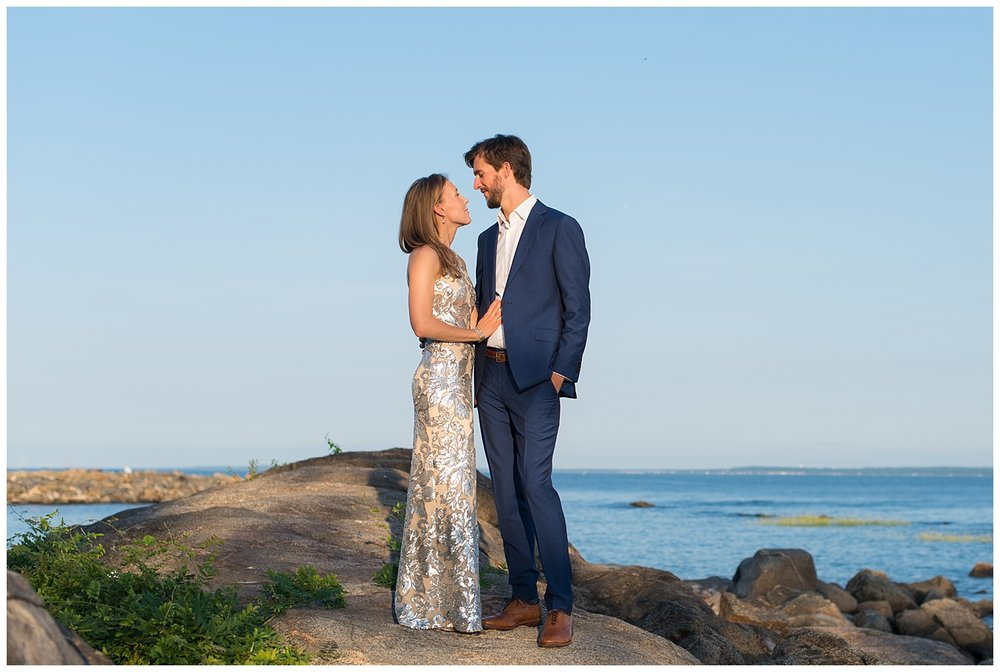 Yacht Engagement Session | Rye, NY | Westchester Weddings | www.redoakweddings.com