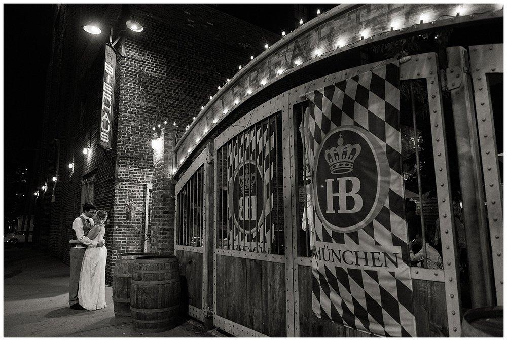 Pilsener Haus & Biergarten | Hoboken, NJ | New Jersey Biergarten Weddings | www.redoakweddings.com