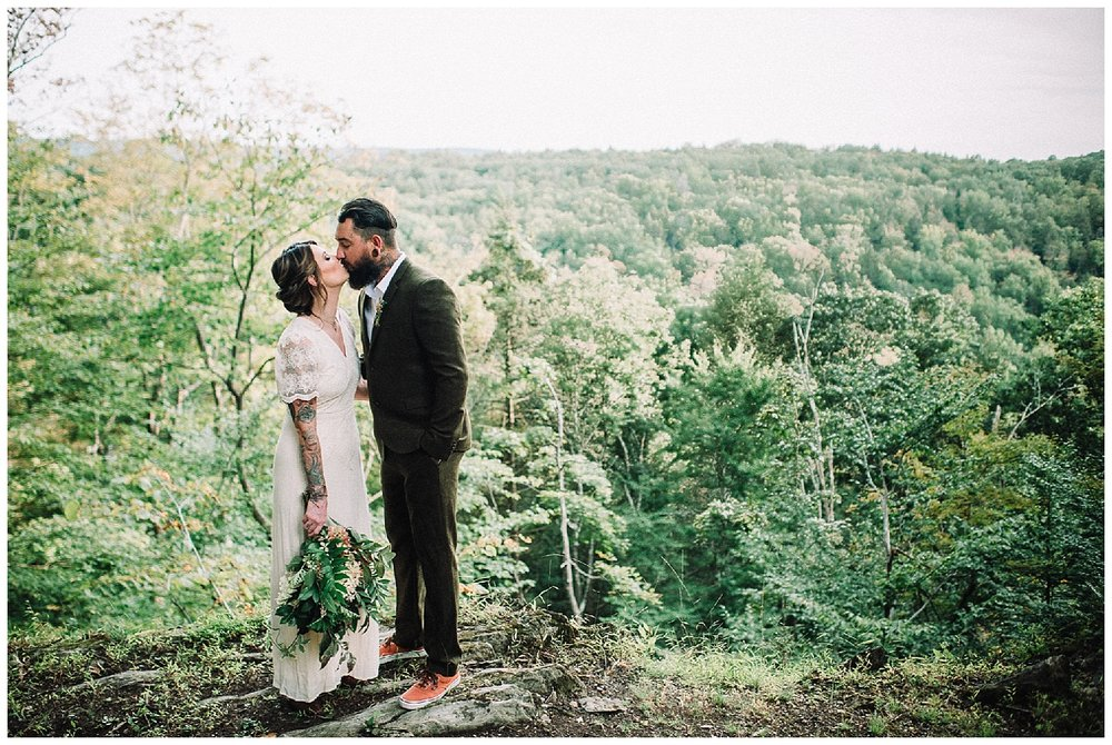 The Living Wall at Promise Ridge | Scranton Weddings | Stroudsburg, PA | www.redoakweddings.com