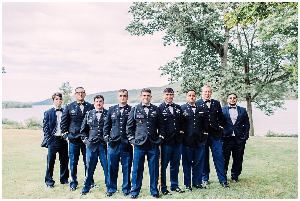 NY Military Wedding | The Farmers Museum | Fenimore Art Museum Wedding | Cooperstown, NY | www.redoakweddings.com