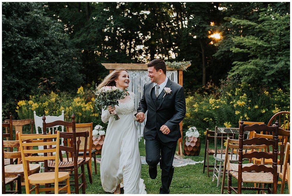 Upstate NY Weddings | Modern Bohemian Wedding Inspiration | Adams Center, NY | www.redoakweddings.com