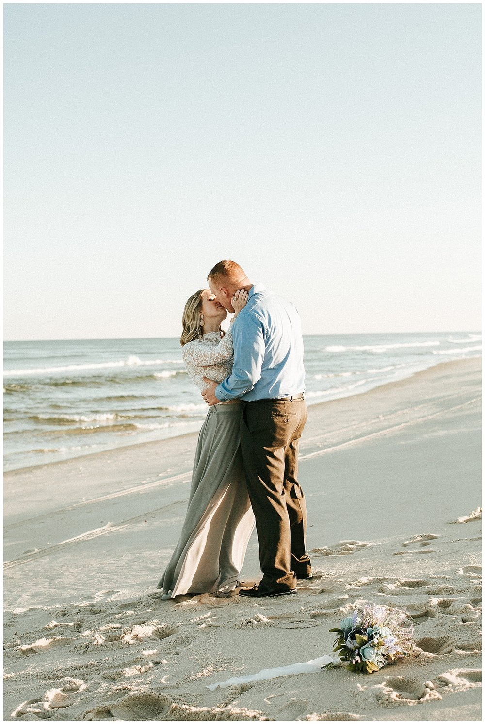 New Jersey Elopement | Island Beach State Park | Seaside Park, NJ | www.redoakweddings.com