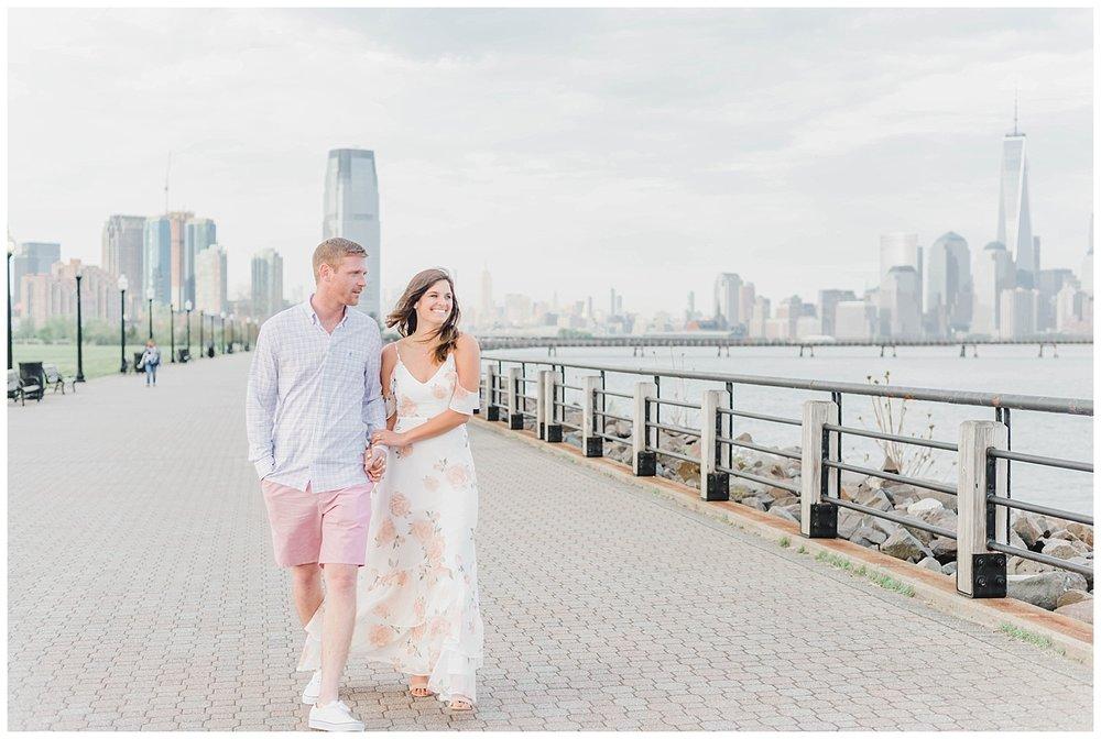 New Jersey Engagements | Liberty State Park, NJ | www.redoakweddings.com