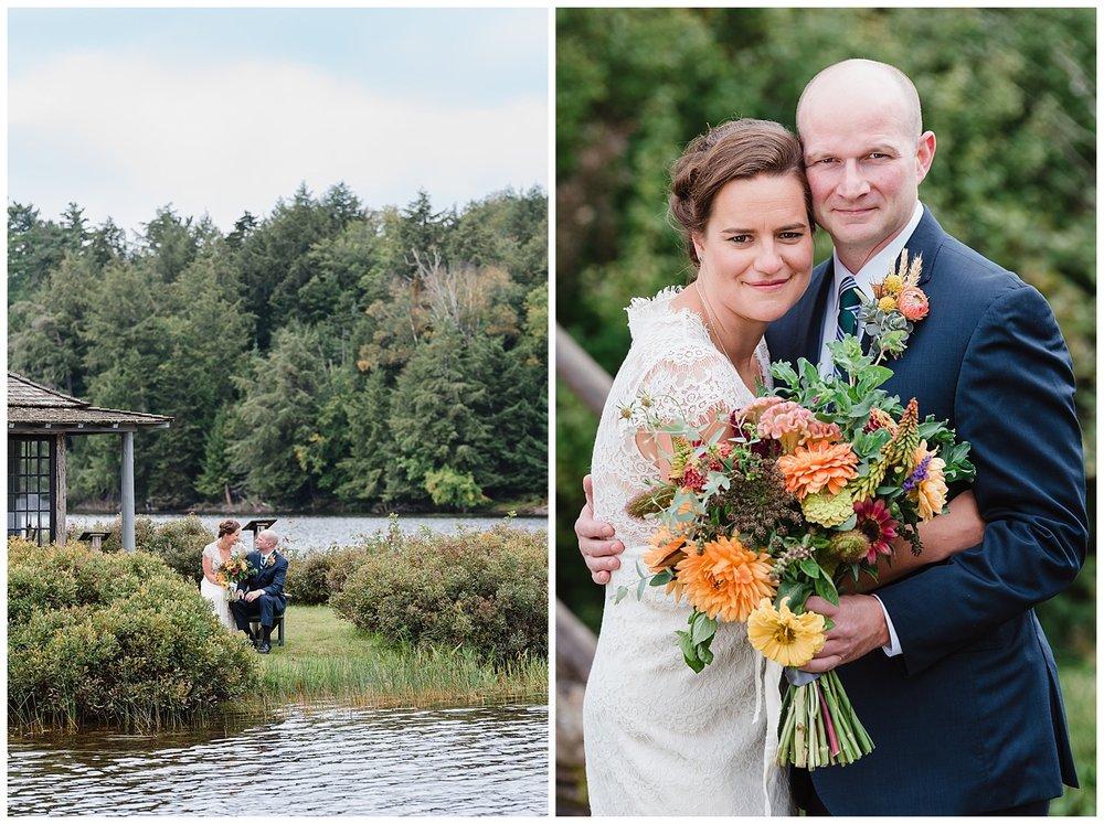 New York State Weddings | Adirondack Mountain Weddings | White Pine Camp | www.redoakweddings.com