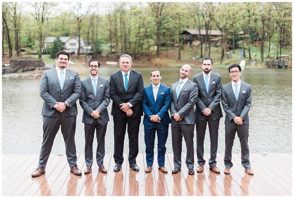 New Jersey Weddings | Sparta Weddings | Rock Island Lake Club Wedding | www.redoakweddings.com