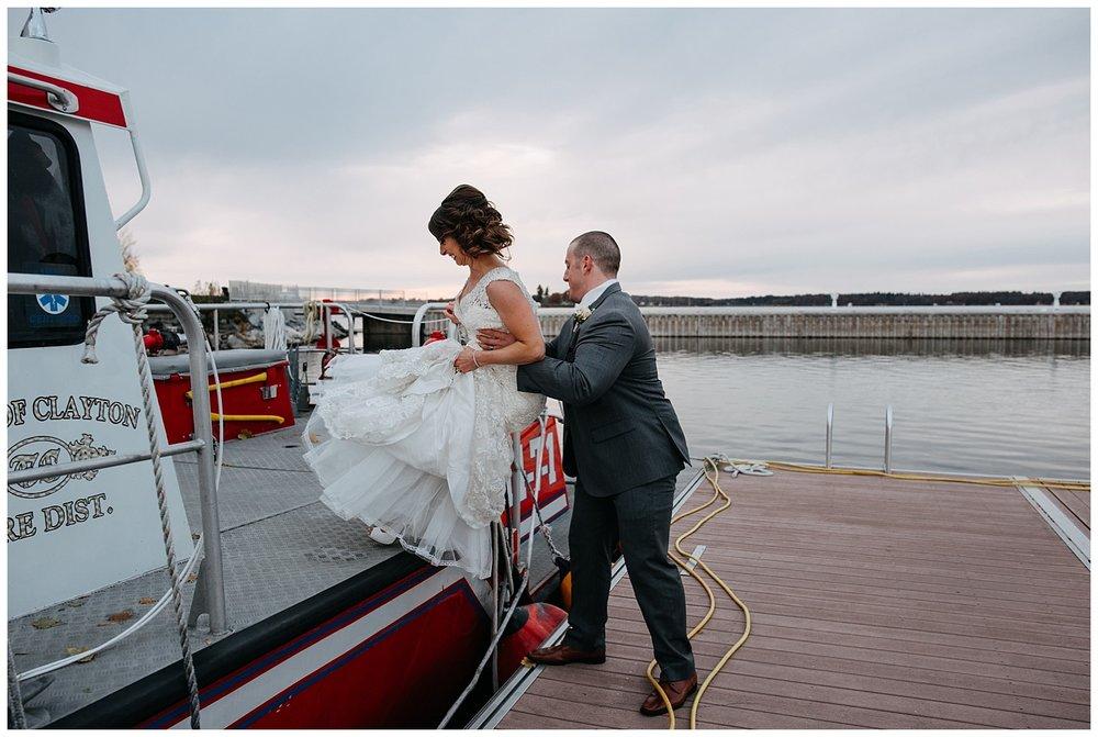 New York Weddings   St Lawerence River Wedding   1000 Islands Harbor Hotel   www.redoadweddings.com