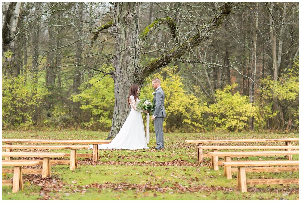 Fall Wedding Inspiration | Canasawacta Pavilion | Norwich, New York | www.redoakweddings.com