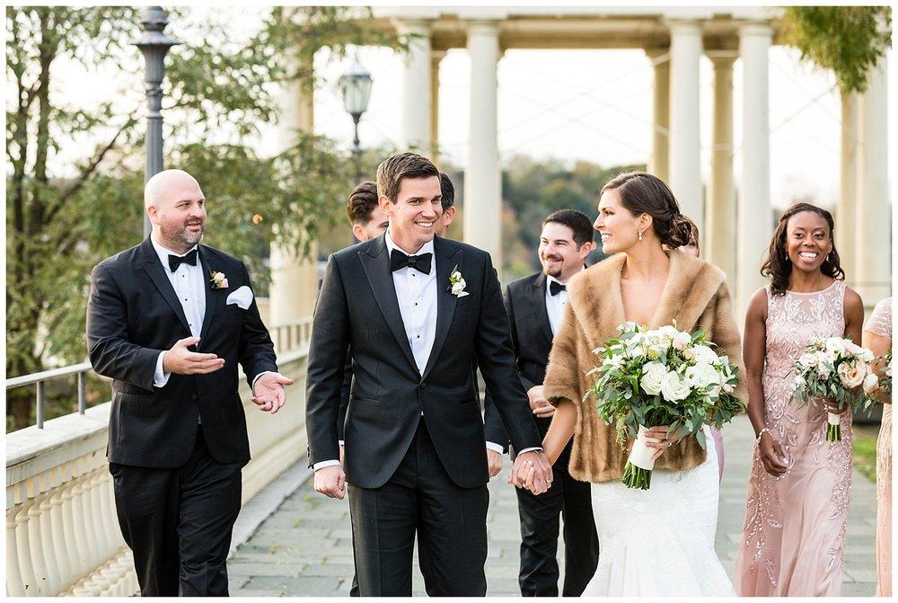 Philadelphia Weddings | Fairmount Water Works Wedding | Philadelphia, PA | www.redoakweddings.com