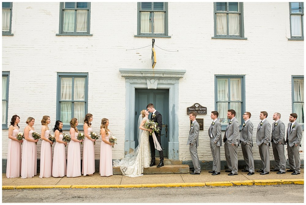 Pittsburg Weddings | NOAH's Event Venue Wedding | Harmony, PA | www.redoakweddings.com
