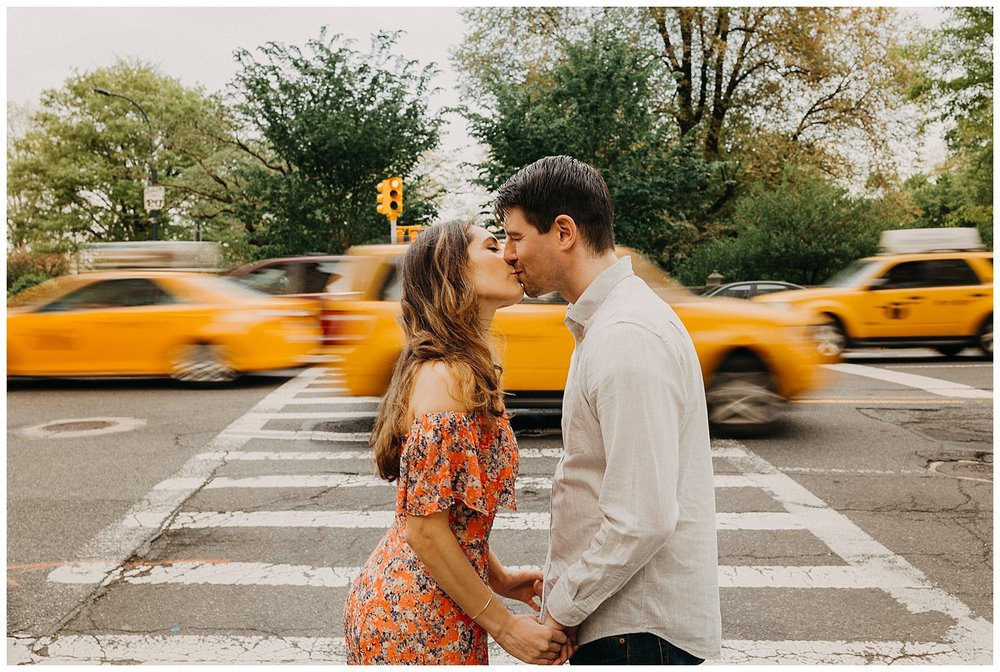 Upper West Side Engagement Session | NYC Engagement | New York, NY | www.redoakweddings.com