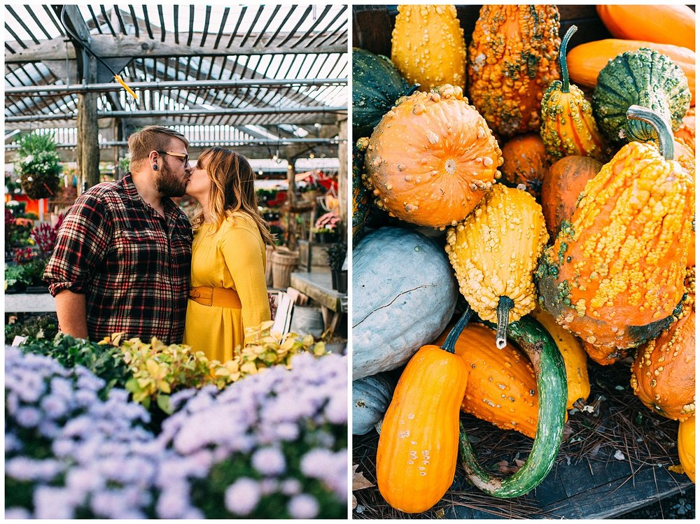 Terrain Fall Engagement Session | Glen Mills, PA | www.redoakweddings.com