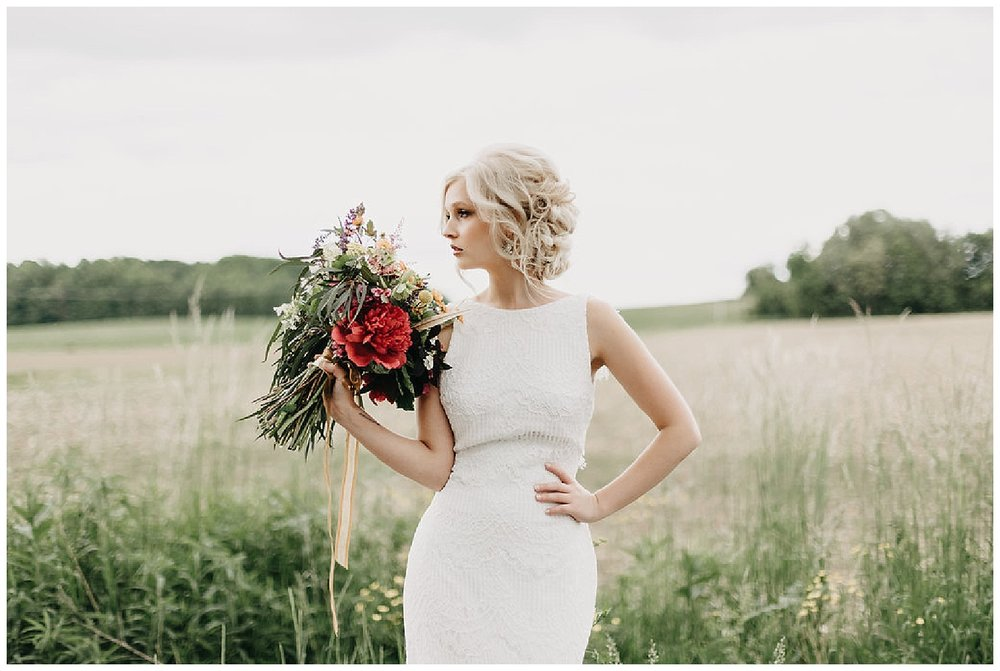 Vintage Boho Wedding Inspiration at Aster Weddings • Hannah Frederick Photo
