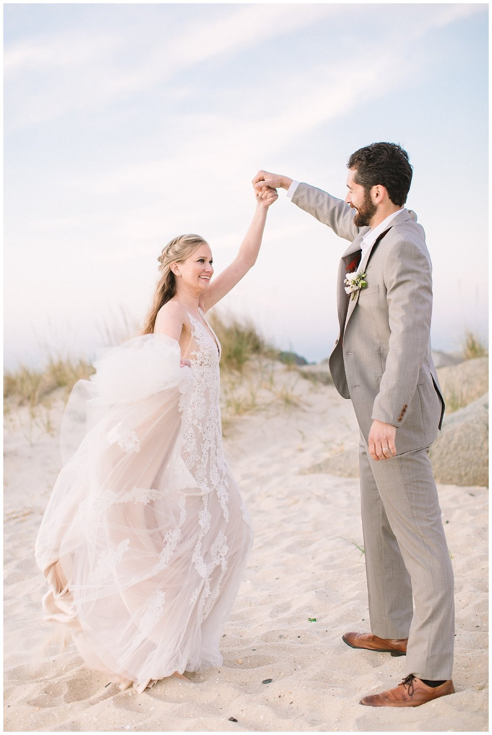Lush Green Jersey Shore Wedding Inspiration | Sandy Hook, NJ | www.redoakweddings.com