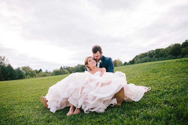 When you combine a modern fairytale wedding and  one of Pennsylvania's prettiest wedding venues, the result is pure perfection. These love birds crafted their dream wedding at The Lodge at Raven Creek with the help of some incredible wedding vendors, and their joy is palpable. A Click Photography was there to capture every detail, from the  bride's epic pink-ruffled dress and outdoor ceremony, to the stunning bridesmaid dresses and of course, the happy couple during dusk. We love this wedding, and know you will, too! . . FEATURED VENUE: @ravencreeklodge . PHOTOGRAPHY: @aclickphoto HAIR & MAKE UP: @erin_slay_ BOUQUETS: @abblossoms_too DRESS & SUITS: @exclusivelyyou DJ: JUMPING JEFF WALKER CAKE: MOLLY BOWIE OFFICIANT: GEORGE MASICH . .  #redoakweddings #newjerseywedding #njwedding #njweddings #njbride #newyorkwedding #nywedding #nybride #hudsonvalleyweddings #pennsylvaniawedding #pawedding #weddinginspiration #pursuepretty #njweddingvendors #nyweddingvendors #paweddingvendors # #weddinginspo #weddingwednesday  #shesaidyes #realwedding #weddingblogger #njweddingplanner #njweddingphotographer #newjerseyweddingphotographer #paweddingphotographer #lancasterweddingphotographer #lancasterwedding #fairytalewedding #glambride
