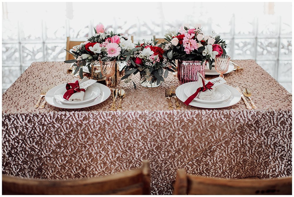 Valentines Day Wedding Inspiration | Upstate New York Wedding Inspiration | Syracuse, NY | www.redoakweddings.com