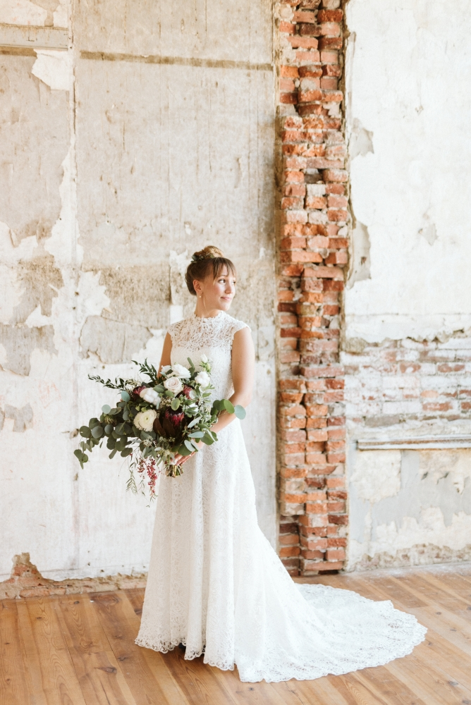 TOP 20% | The Bride Category | 2,825 out of 17,869 entries  PICTURED HERE: Venue:  Excelsior  | Florals:  Ash to Oak  | Gown:  InWhite
