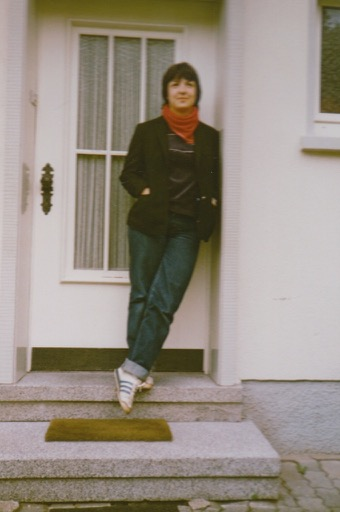 Me as a teenager in the early 80s.