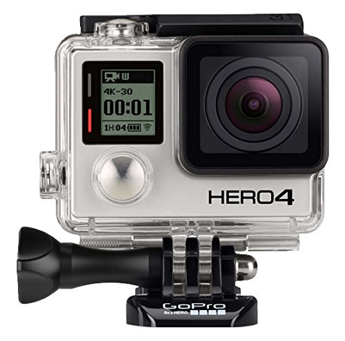 GoPro Hero 4 Black - Captures great footage and way better audio than the Hero 5 Black.