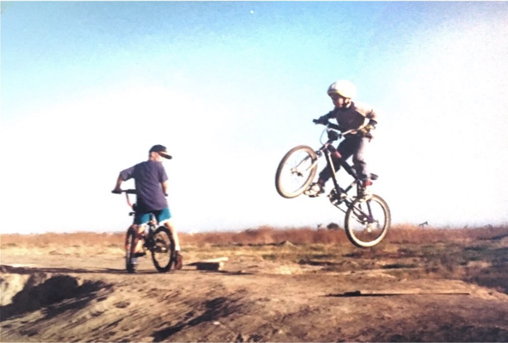 Huntington Beach CA 1996 - We didn't have strider bikes