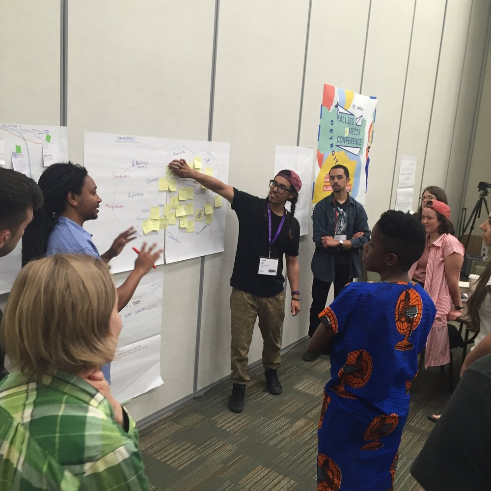 Strategizing around our shared principles at the 2016 Design Justice Network Gathering