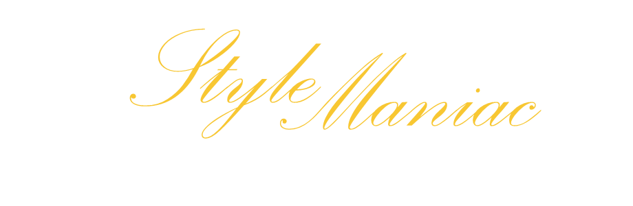 style maniac script logo