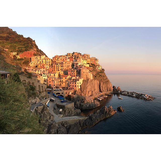 This place is incredible. Cinque Terre, Italy is fun in the sun and full of surprises. Stoked to finally spend some quality time with @jessicacusick