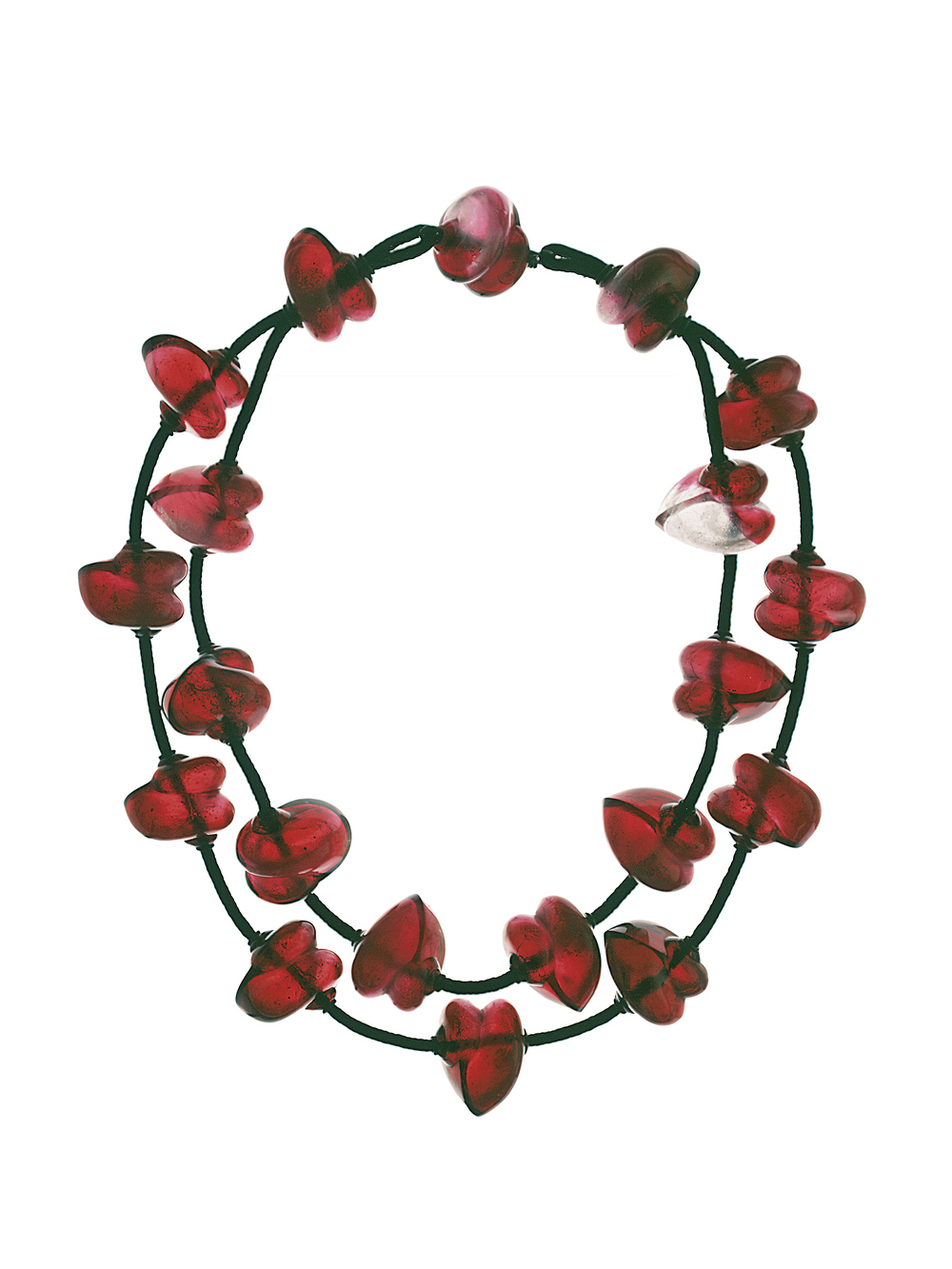 Red Glass Necklace 1999