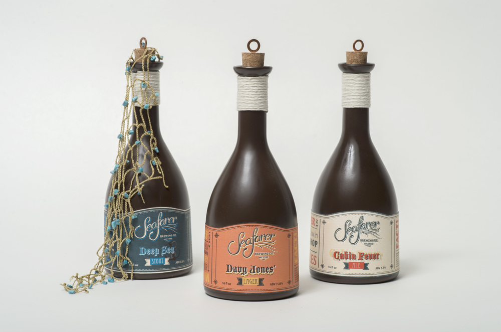 Seafarer Brewing Company bottles