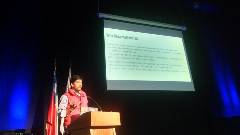 Semana de las Comunicaciones, Octubre 2015, Chile.