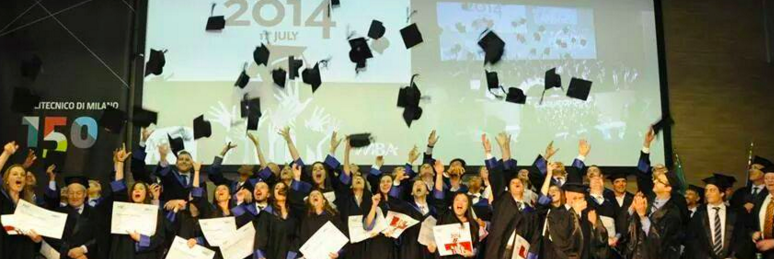 MBA Graduation day. Milan, Italy (2014)