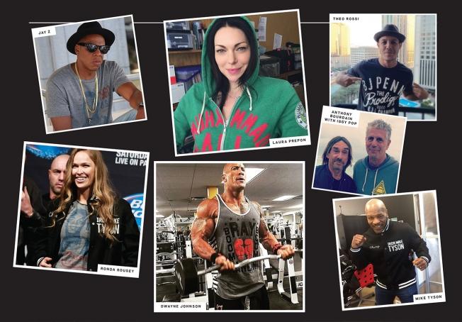 Celebrities wearing Roots