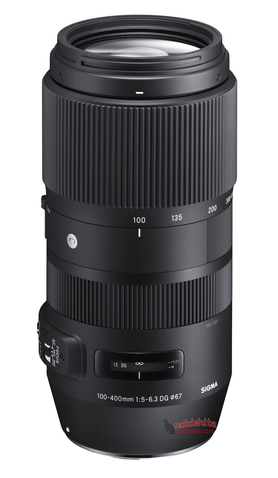 Sigma 100-400 mm F5 - 6.3 Contemporary