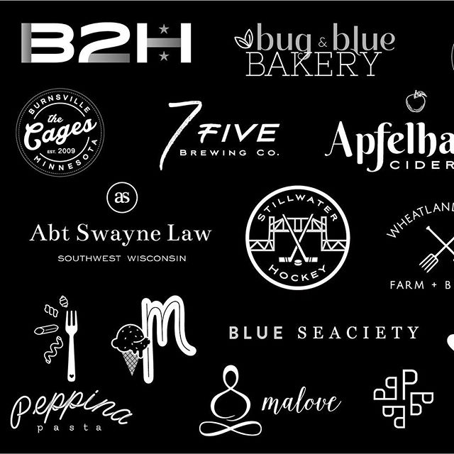 2 0 1 8 ✨ . 2018 marked the first full year out on my own. When I look at all of these logos, it's very surreal to think of the stories behind each. I worked with 43 different amazing & passionate clients. From all walks of life, and all over the US (an Canada!) I cant stop smiling when looking at this 🥳Cheers, 2018- you were one for the books!