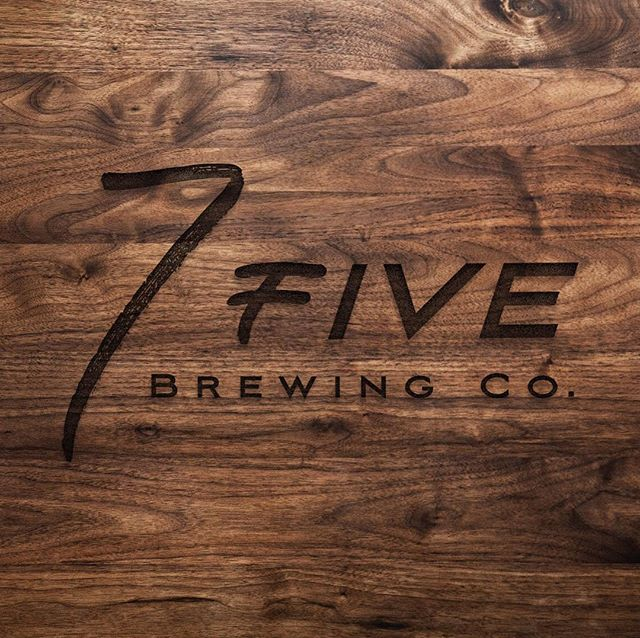 Happy Friday, friends! . With this bitter cold I've got breweries on my mind! The perfect place to escape for a drink and warm up with friends . This concept overall got rejected, but I just loved playing with different styles & how we could mock it up! Cheers 🍻