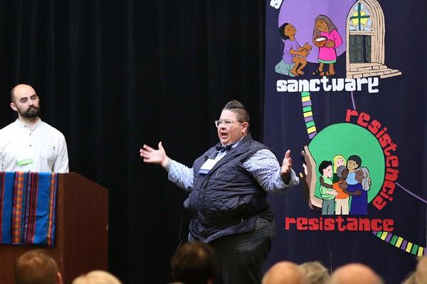 Zach Johnson, CTA Executive Director (Left) Dr. Robyn Henderson-Espinoza, CTA Keynote Speaker (Right)